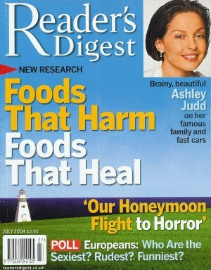 Readers Digest UK Edition July 2004